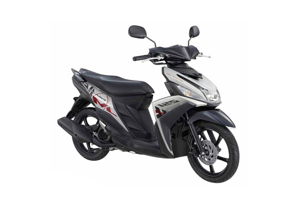 rent motorbike chiang mai thailand yamaha mio 125 scooter. Black Bedroom Furniture Sets. Home Design Ideas