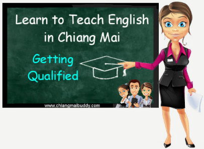 Get qualified to teach english in Thailand