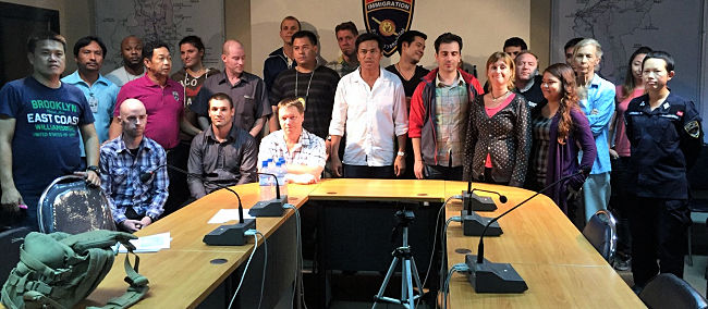 17 Foreigners Arrested for Teaching Illegally in Chiang Mai