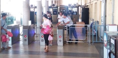 Laos Checkpoint