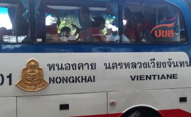 Laos to Nong Khai